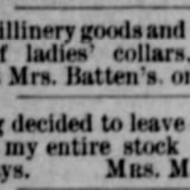 batten millinery 1886