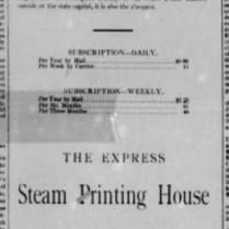 beatrice express 1886