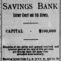 beatrice savings bank 1886