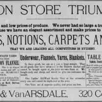 begole & vanarsdale store 1886