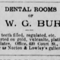 burns dentist 1886
