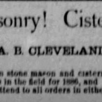 cleveland masonry 1886