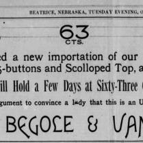 corsets begole & van arsdale 1886