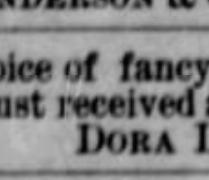dora brown 1886