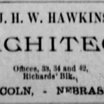 j w hawkins architect 1886