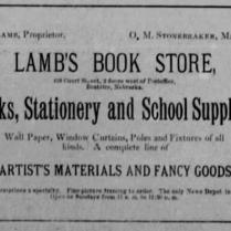 lamb book store 1886