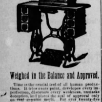 light running sewing machine 1886
