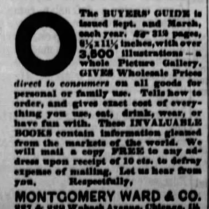 montgomery wards catalog 1886