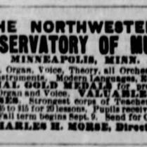 nw music school 1886