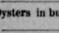 palmers oysters 1886