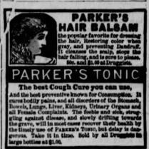 parkers tonic 1886