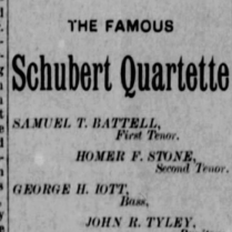 schubert quartet 1886 opera house