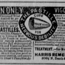 seminal pastilles 1886