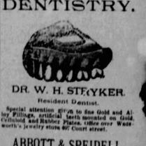 stryker dentist 1886